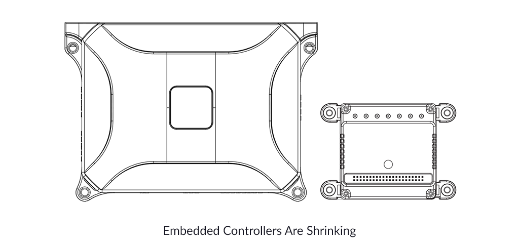 Embedded Controllers Are Shrinking
