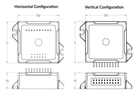 Digital Amplifier Mechanical Dimensions
