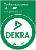 ISO 13485:2016 Certification Seal