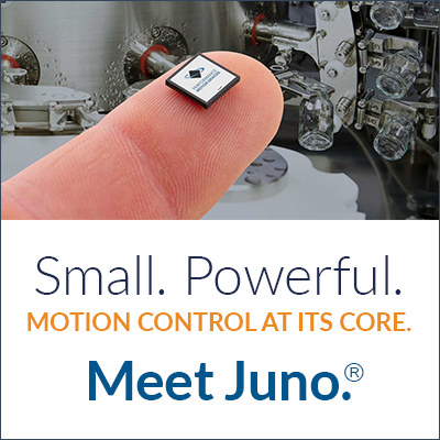 Meet Juno - Powerful Motion Control In A Compact IC